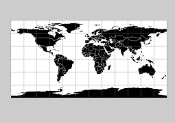 Editable royalty free map of 144 free vector world maps in vector black filled world outline with georeference linesg 300 dpi gumiabroncs Gallery