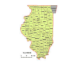 Preview Of Illionis County Vector Map Ai Pdf Jpg Cdr Wmf Eps Pptx File