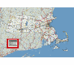 Editable Royaltyfree Map Of Massachusetts MA In Vectorgraphic - Maps of ma